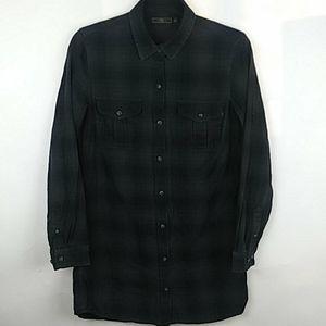 Obey Plaid Flannel Shirt
